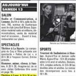 Presse 2008