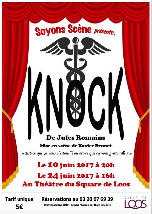Venez découvrir notre version de Knock