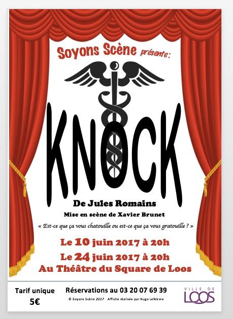 Knock par Soyons-Scène