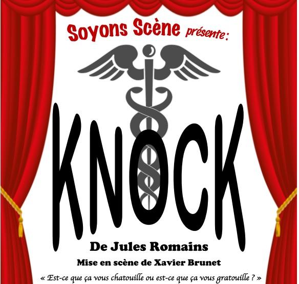 Soyons-Scène jouera Knock à Ronchin !
