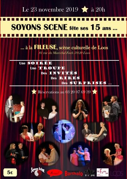 Soyons Scène fête ses 15 ans à La Fileuse !